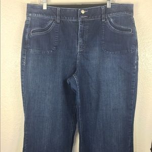 Lane Bryant Plus Size 18 TTT Jean Pant
